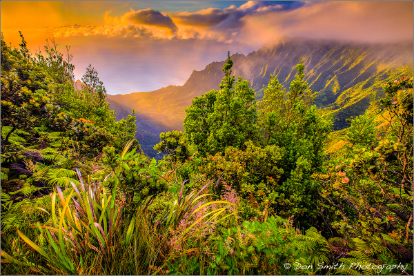 2017 Kauai Photo Workshop :: Kalalau Valley Sunset