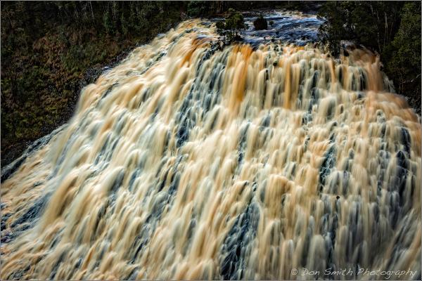 Dip Falls, Mawbana, Tasmania