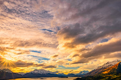On The Way To Glenorchy, New Zealand