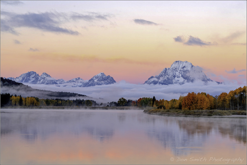 Morning Magic, Oxbow Bend, Grand Teton NP