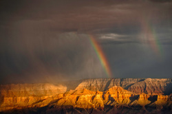 Double Rainbow at Grand Canyon National Park