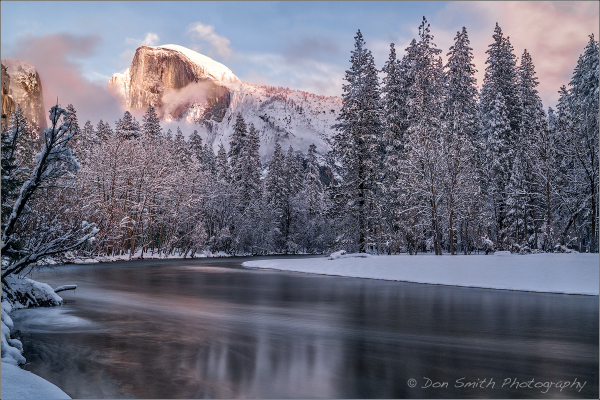 Snow Day in Yosemite National Park