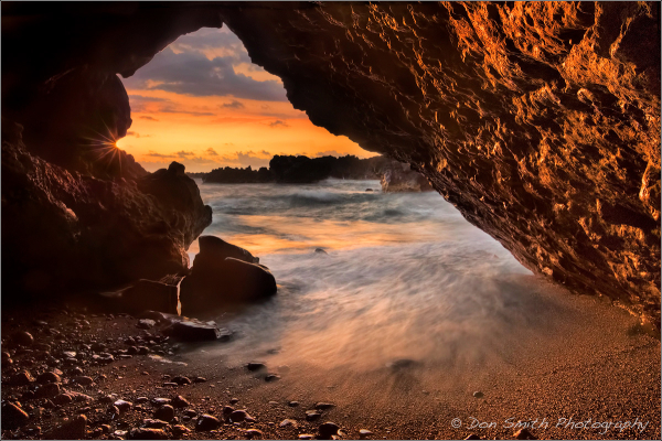 Lava Tube Portal to Paradise, Hana Coast, Maui