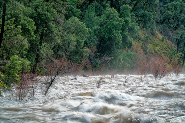 Raging Merced River, El Portal, California