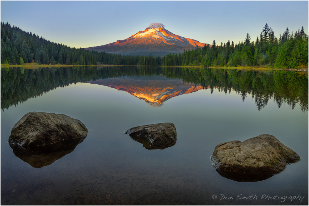 Mt. Hood Reflection in Trillium Lake