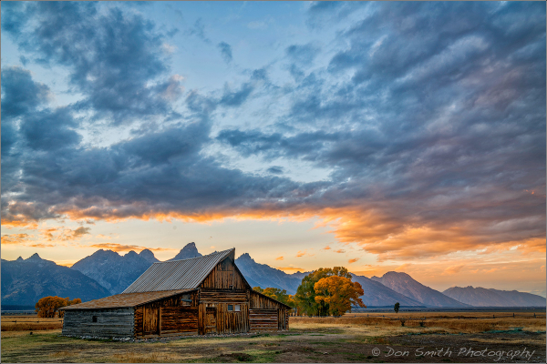 Clearing Storm at Sunset, Grand Teton NP