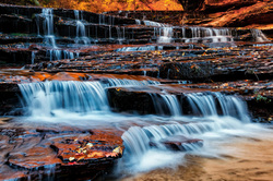 Arch Angel Falls, Zion National Park
