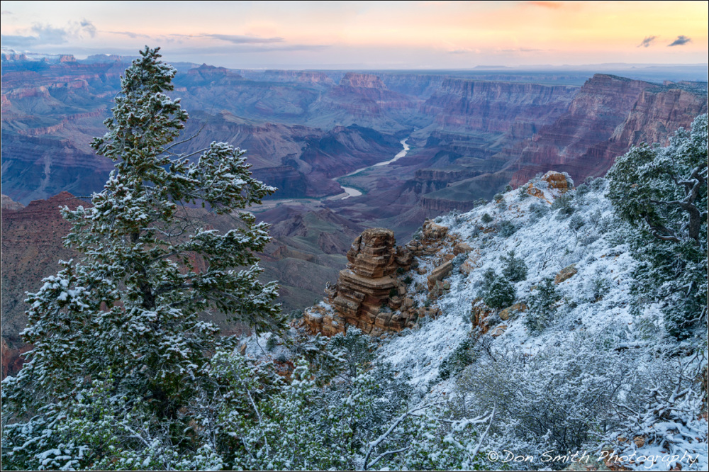 Sunrise, Destet View, Grand Canyon National Park