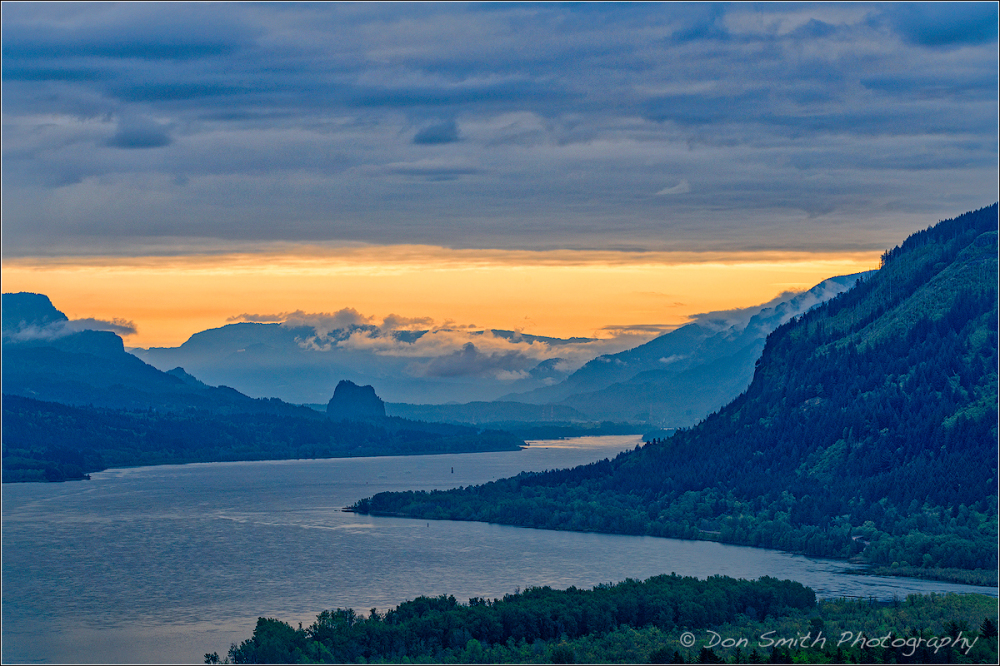 Columbia River Gorge Morning
