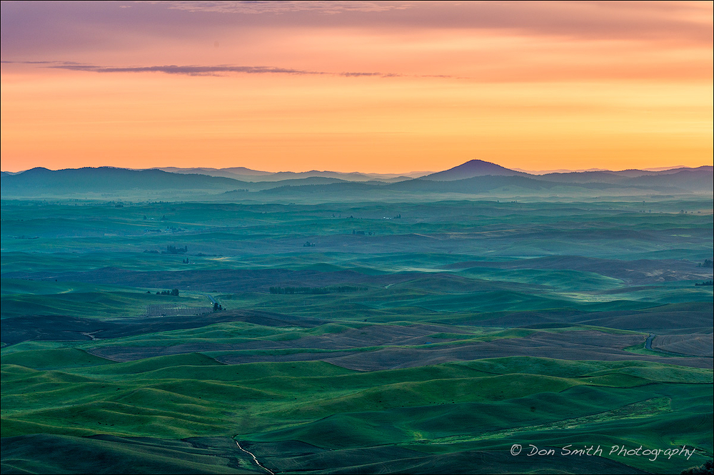 Dawn Over the Palouse, Steptoe Butte