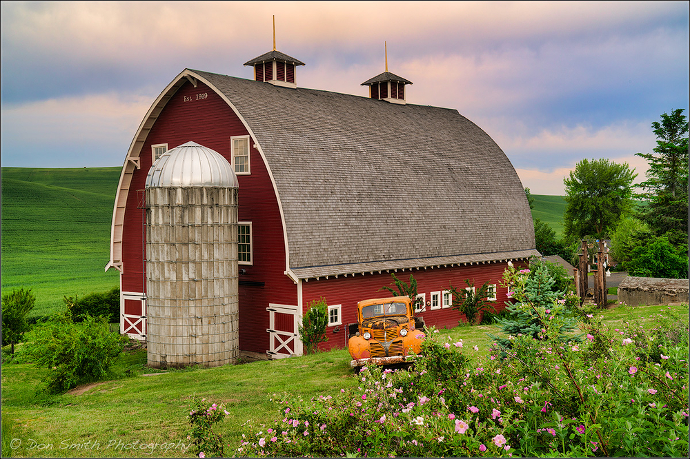 Early Morning on the Farm, Palouse, Washington