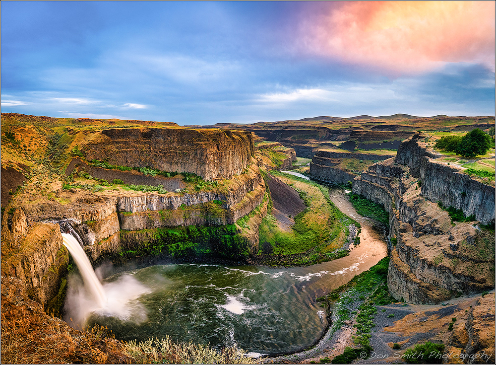 Palouse Fall, Palouse Falls State Park, Washington