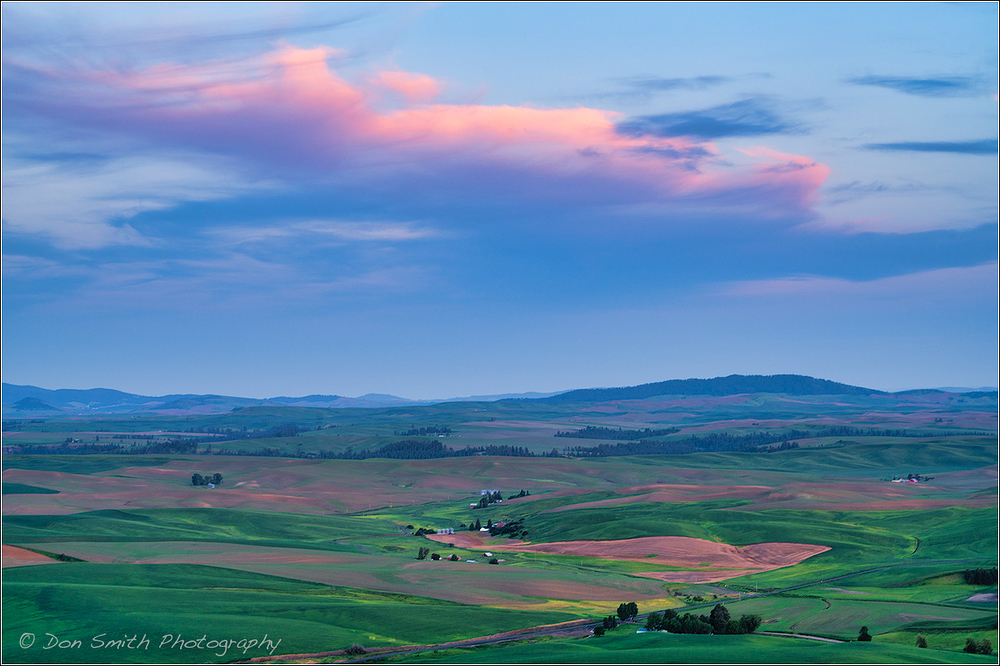 Dawn Over Eastern Palouse, Washington