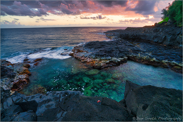 Queen's Bath, Kauai, Hawaii