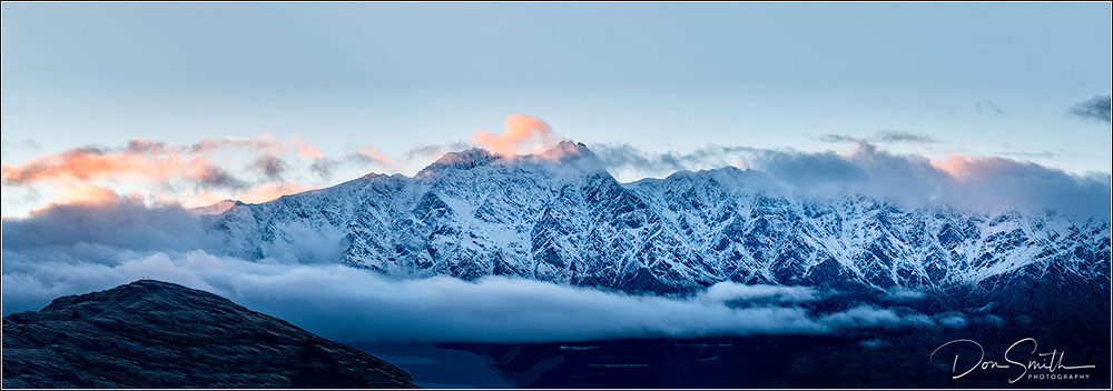 First Light on the Remarkables, Queenstown, NZ