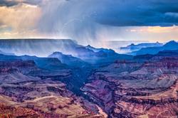Monsoon Storm at Grand Canyon National Park