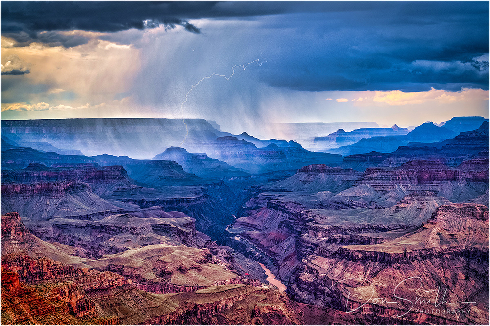Monsoon Storm at Grand Canyon National Park