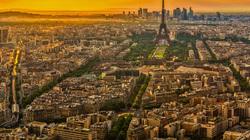 Dusk Sky and Eiffel Tower