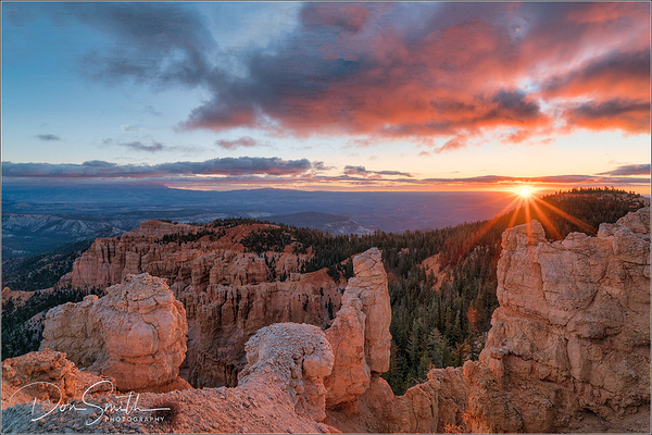 Rainbow Point Sunrise, Bryce Canyon NP
