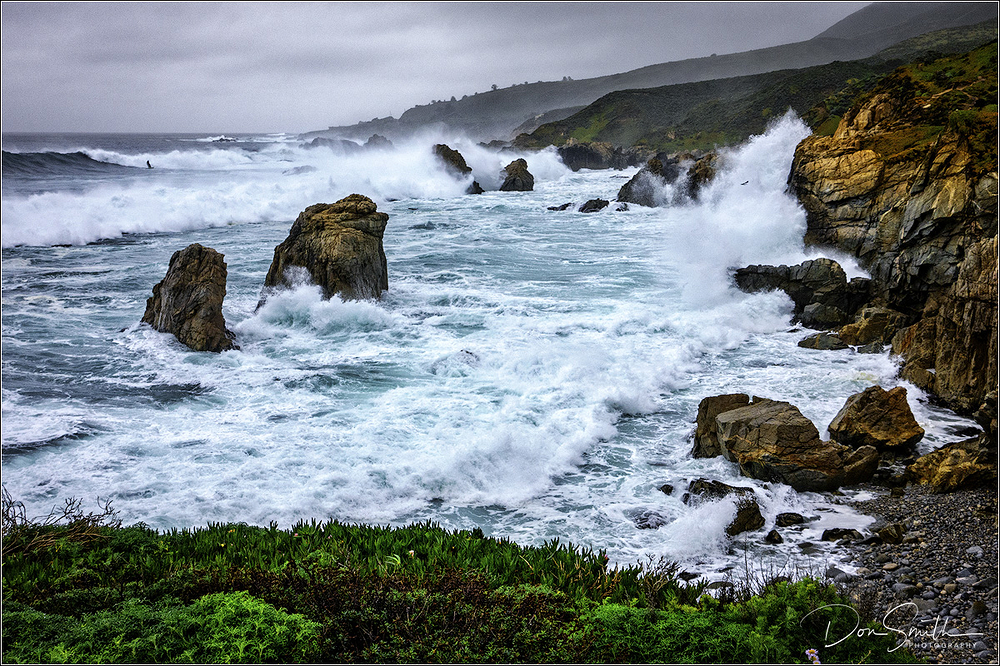Wild Surf, Big Sur Coast