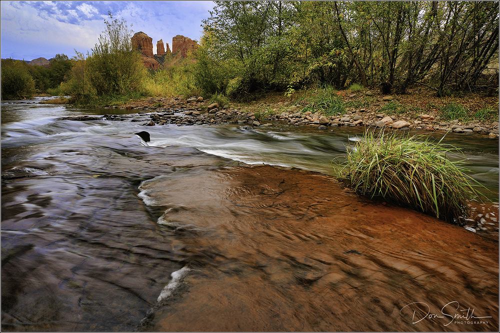 Oak Creek and Cathedral Rocks, Sedona