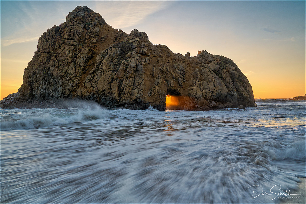 High Tide at Pfeiffer Beach, Big Sur