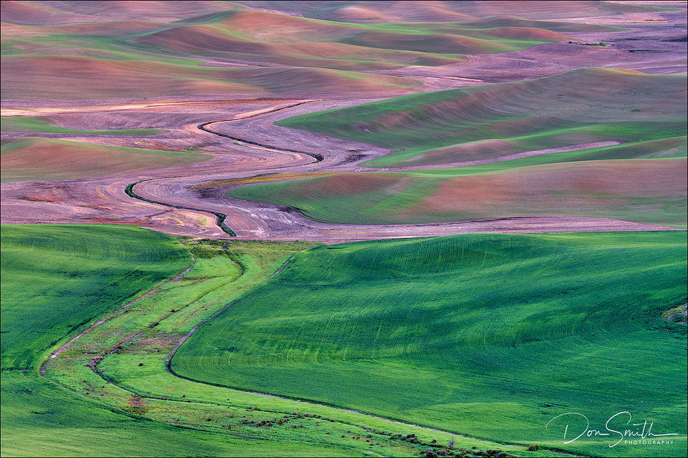 Patterns of the Palouse, Eastern Washington State