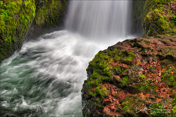 Bridal Veil Fall, Columbia River Gorge, Oregon