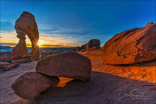 Delicate Arch Sunset, Arches NP