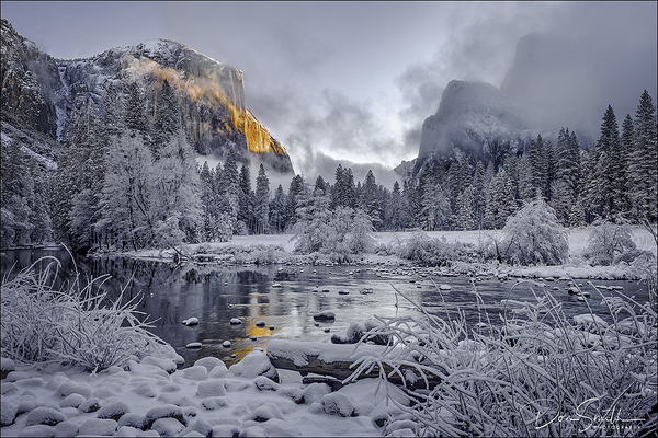 Winter Paradise, Valley View, Yosemite NP