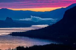 Columbia River Gorge Sunrise