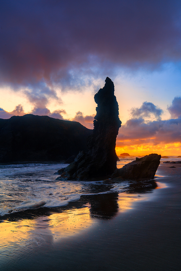Facerock Beach Sea Stacks, Bandon, Oregon