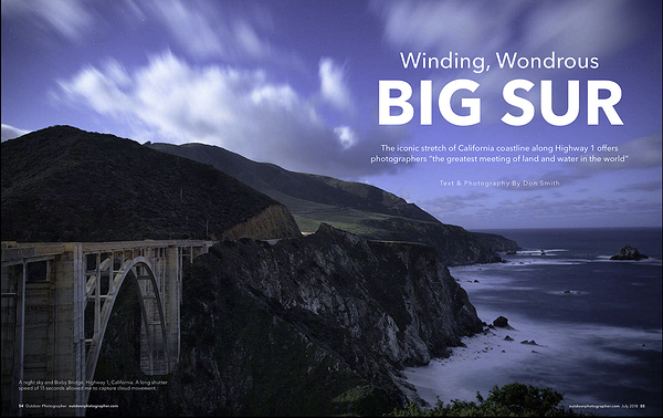 Photographing the Big Sur Coast