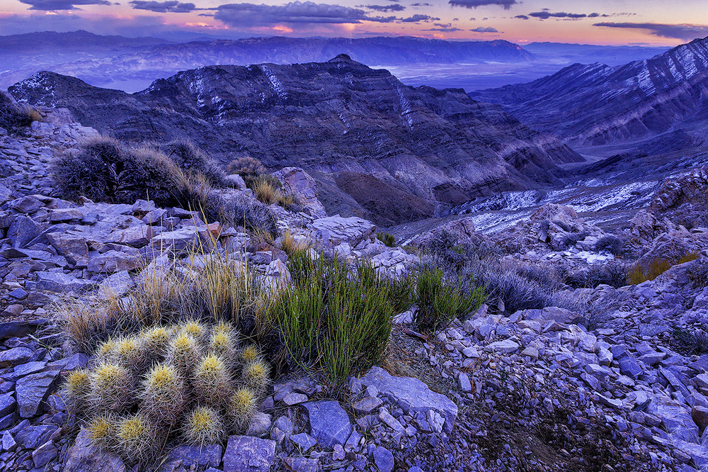 Auguereberry Point Sunset, Death Valley NP