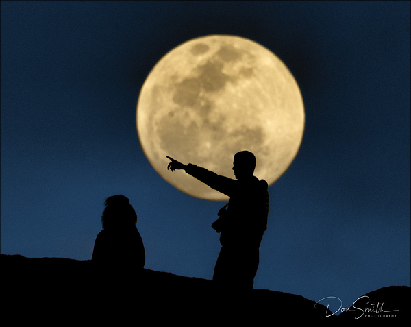 Man in the Moon, Namibia, Africa