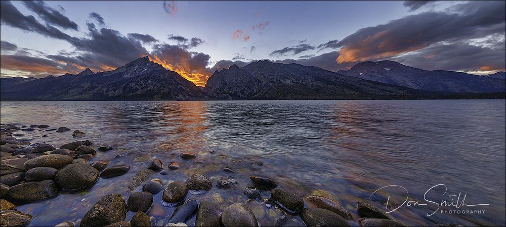 Jenny Lake Sunset, Grand Teton NP