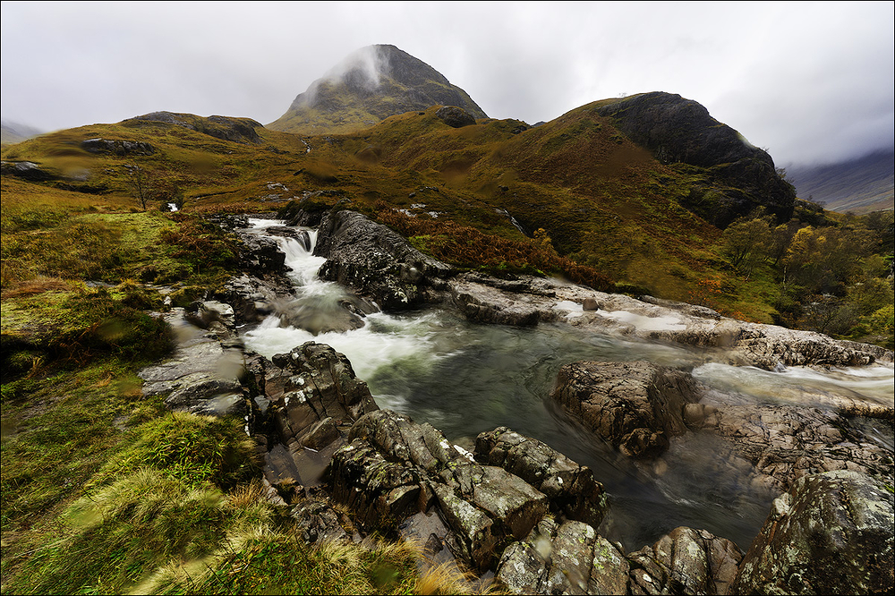 River in Lost Valley, Scottish Highlands