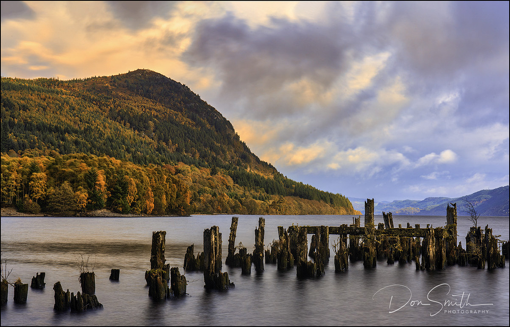 Loch Ness Without Nessie, Socttish Highlands
