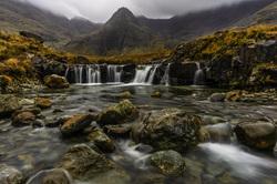 The Fairy Pools, Isle of Skye, Scottish Highlands