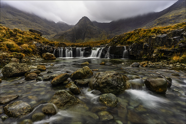The Fairy Pools, Isle of Skye, Scottish Highlands