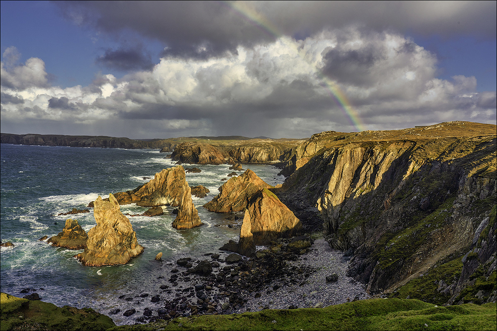 Mangarstadh Sea Stacks, Isle of Lewis, Scottish Hi
