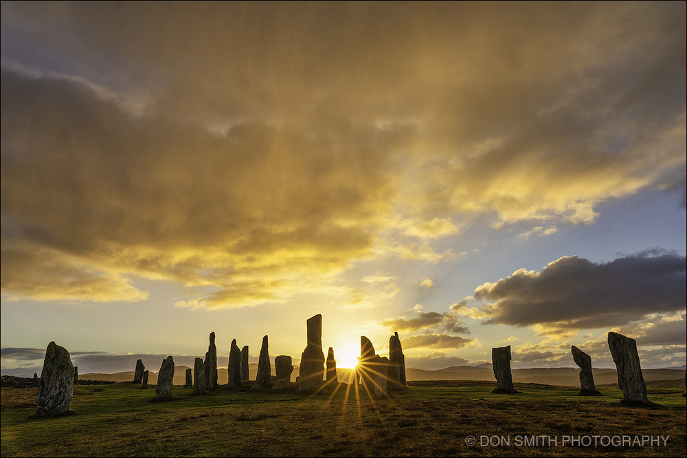 Sunset at the Callanish Stones, Isle of Lewis