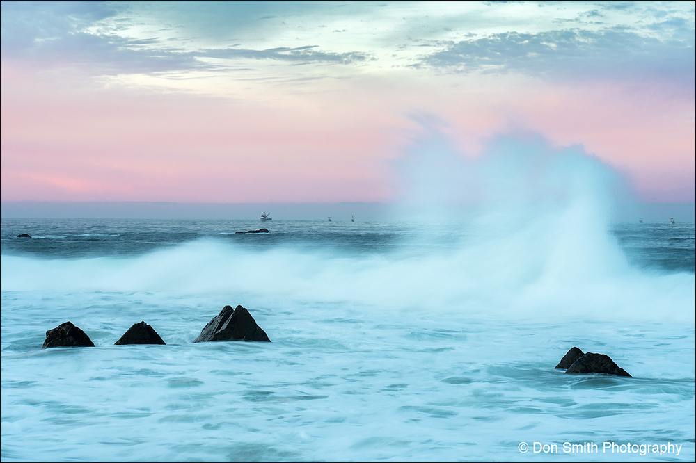 Dawn Wave, Garrapata State Beach, Big Sur Coast