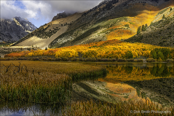 Fall Color at North Lake, Bishop Canyon, CA