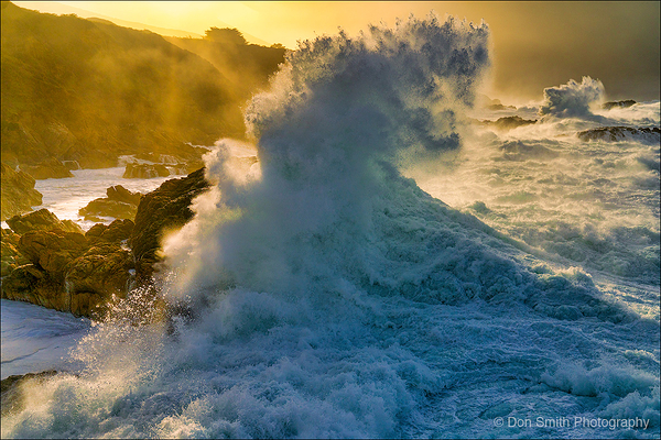 Monster Waves, Big Sur Coast, California