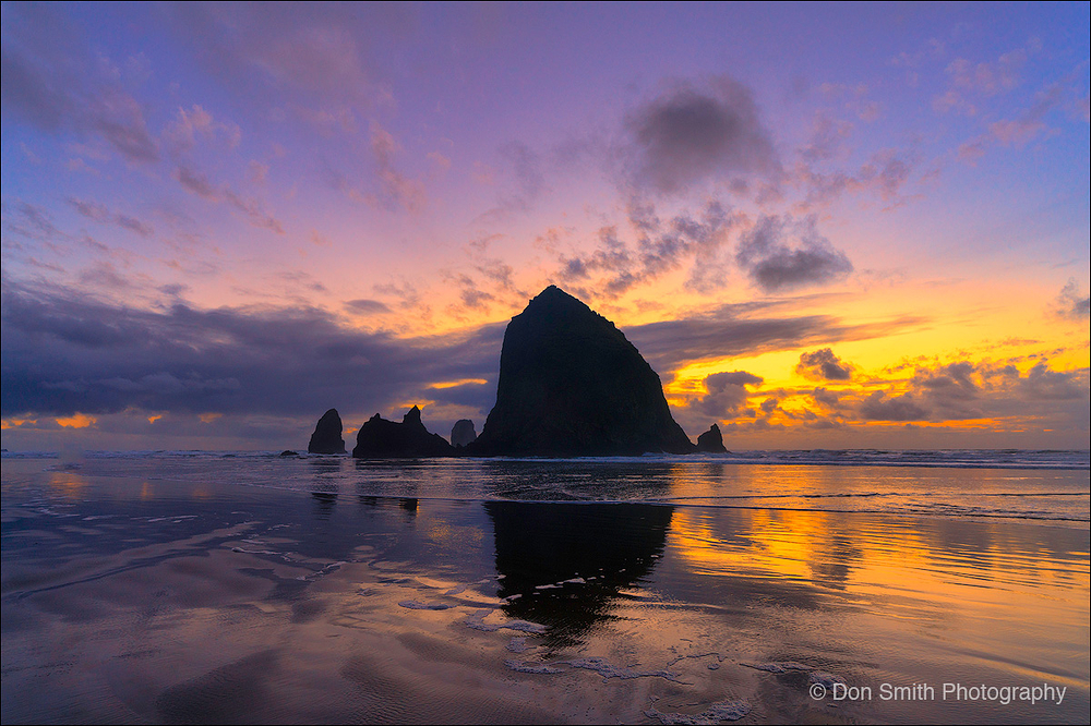 Haystack Rock, Canon Beach, Oregon