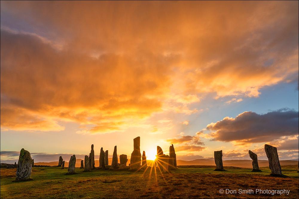 Callanish Stones, Isle of Lewis, Scottish Highland