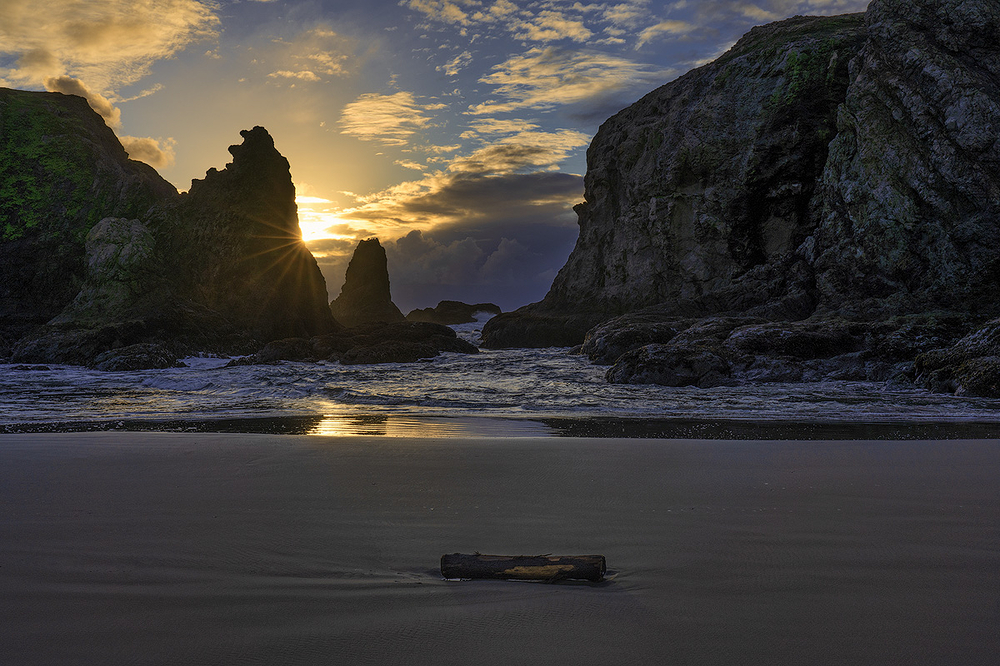 Winter's Peace, Coquille Beach, Oreogn