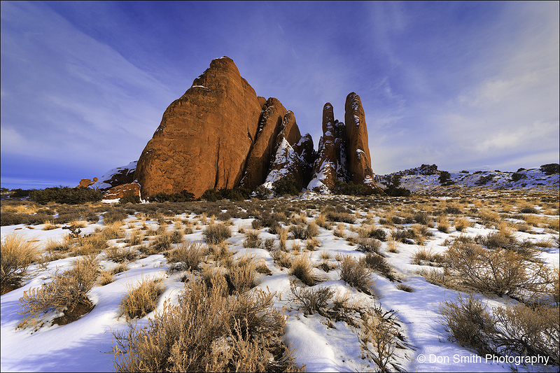 The Fins, Arches National Park, Utah