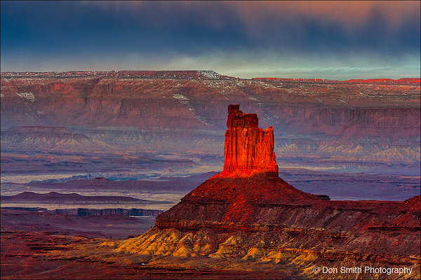 The Candlestick, Canyonlands National Park, Utah